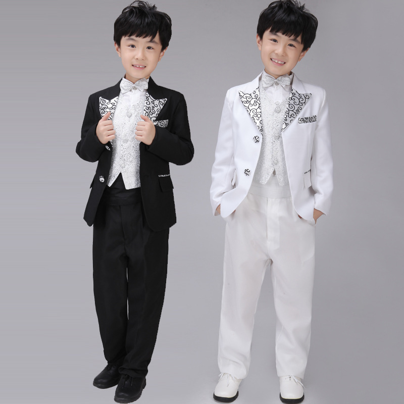 2015 wedding suit suits boy suit flower girl dresses kids for Boys dress clothes wedding
