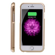 Беспроводной 2200 мАч Вернуться Клип Зарядное Устройство Power Bank Крышка Телефона для iPhone 6 s Ультра Тонкий Вернуться Клип Зарядное Устройство Power банк(China (Mainland))