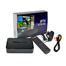 Factory Direct Offer Iptv Set Top Box Mag 250 Linux System Iptv Mag 254 Mag250 Free shipping