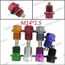 M14*P1.5MM Engine Dress Up Magnetic Oil Drain Plug Package /Oil Sump drain plug