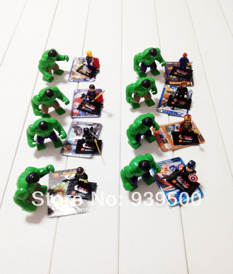78020 LELE LargeHulk+Super heroes building Block bricks sets Minifigure Star wars toys action figures - sweety baby's store