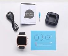 Free shipping Reloj WIFI Waterproof 5M Camera 3G GPS Dual Core HD Bluetooth Smartwatch Phone mega
