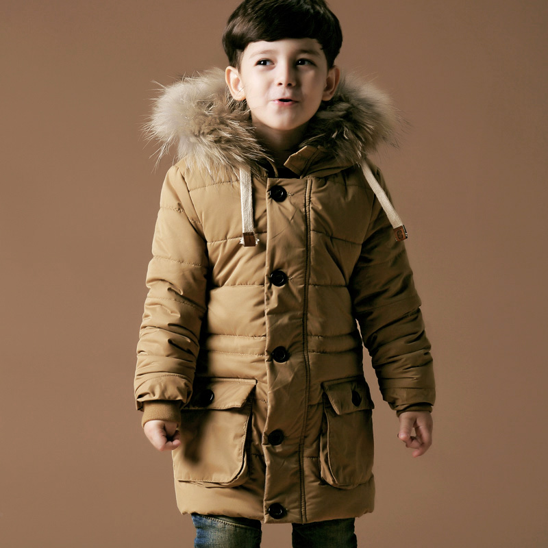 And we've got some of the best boys' jackets and coats on the planet, so finding one (or a few!) he likes is a total breeze. Choose from just–for–kids styles (like a jean jacket tricked out with Max the Monster patches) or pint–size versions of one of Dad's faves (aka a classic Barbour® overcoat for boys).