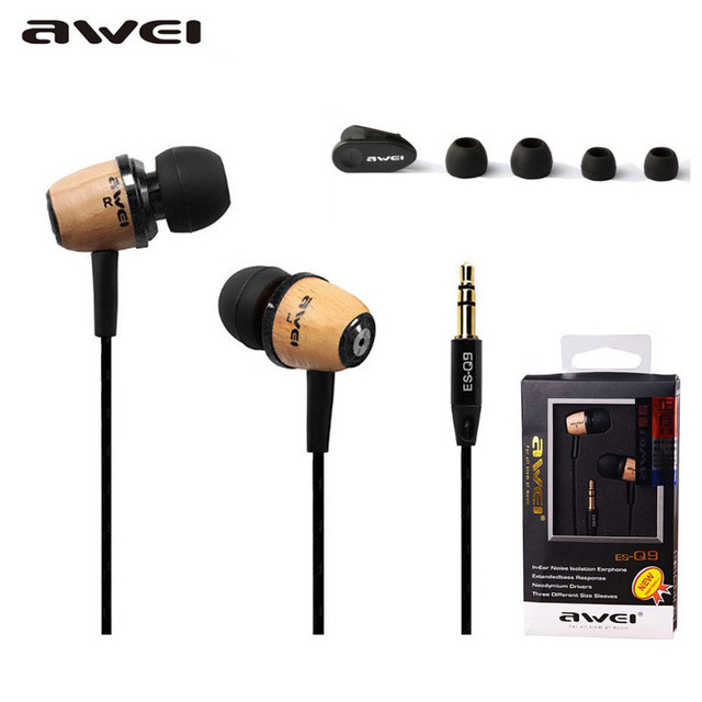 Awei-Q9 general type 3.5 mm headset support apple mobile phone Samsung HTC all kinds of mobile phones(China (Mainland))