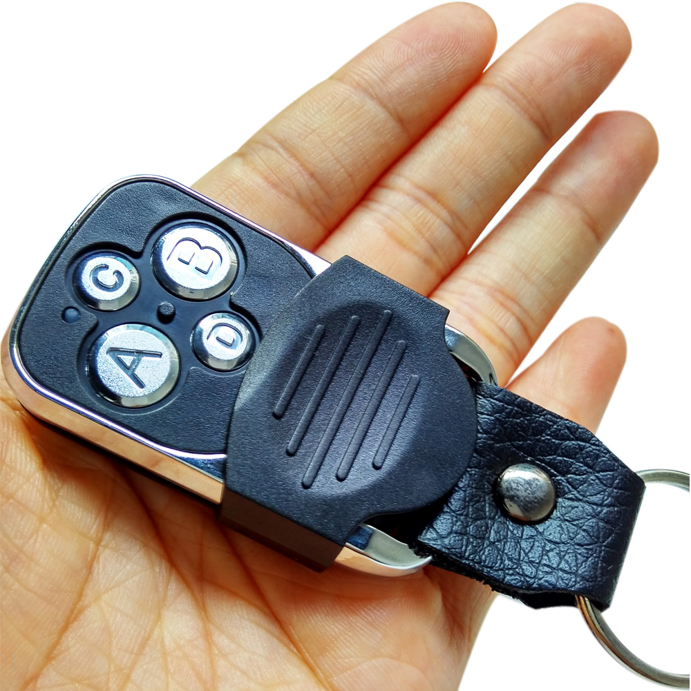 Electric 4-Channel Cloning 433MHZ Garage Door Remote Control Transmitter Duplicator Rolling Code Face to Face Key Fob Universal(China (Mainland))