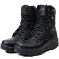 Spring Autumn Men Military Combat Boots Tactical Desert Shoes Climbing Outdoor Ankle Boots Men Work Army