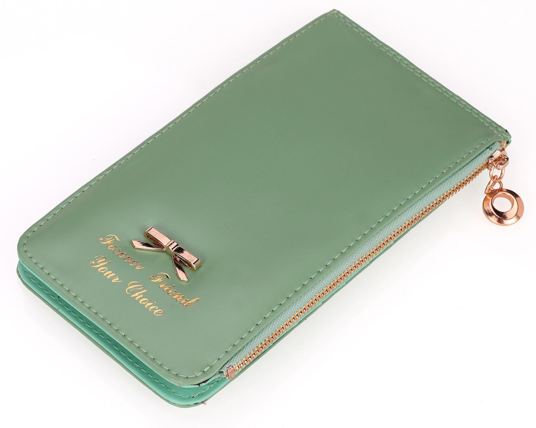 NEW Special Design Women Wallets PU Female Bag Clutch Lady Purse Brand Vintage Bowknot Elegant ID Card Holder Hasp BB024-SZ(China (Mainland))