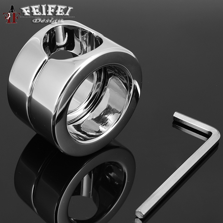 A536 stainless steel bearing ring ring JJ penis scrotum cock testis bound for 620g Adult supplies<br><br>Aliexpress