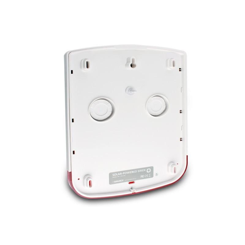 Free shipping SPS-260 433mhz Wireless Outdoor solar Siren 100 dB Volume with Strobe light Connect to eTIGER sensor alarm system