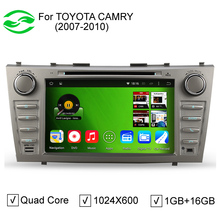"""RK3188 Quad Core 16GB ROM 8"""" Capacitive Scree Pure Android 4.4.4 Car PC For Toyota Camry 2007-2011 With DVD GPS 3G WiFi OBD DVR(China (Mainland))"""