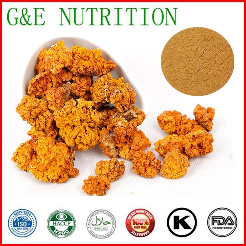 900g High quality Tremella aurantialba/ Tremella aurantia/ golden fungus/ Tremella mesenterica Extract with free shipping(China (Mainland))