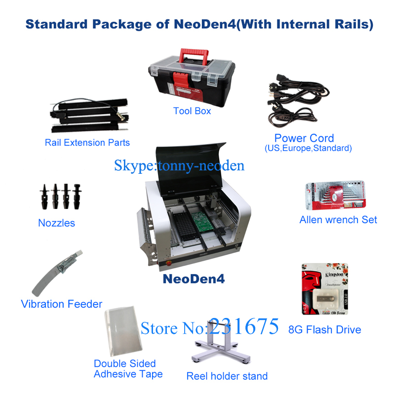 NeoDen4 SMT SMD LED Pick and Place Machine/Automatic SMT Mounter SMD Pick and Place Machine/Pick Place SMT,8 Feeders Equipped(China (Mainland))