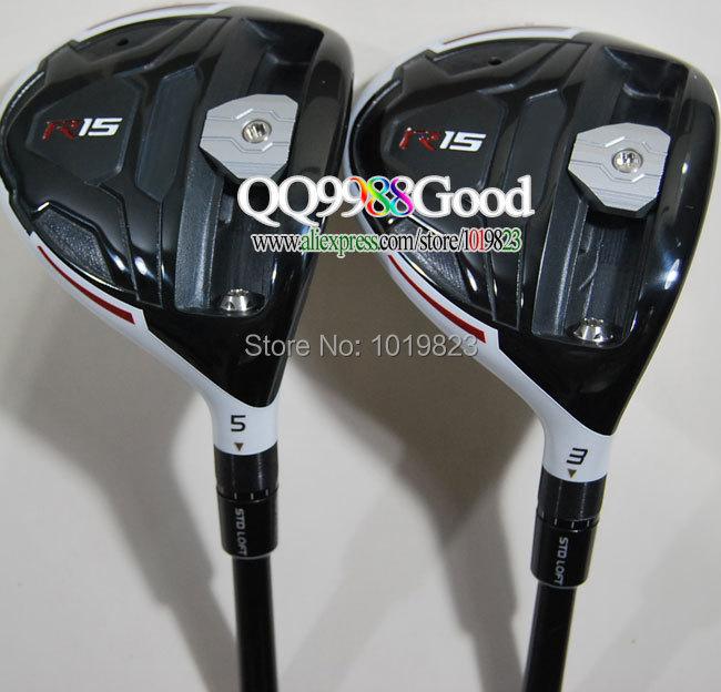 клюшка для гольфа EMS /R15 #3/15 #5/19 R15 & HeadCovers клюшка для гольфа 2014 sldr 15 19 bb5r headcovers ems