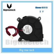 2016 high quality 60x60x15mm 6015 DC Blower Fan 5V Micro Mini fan 3D0035