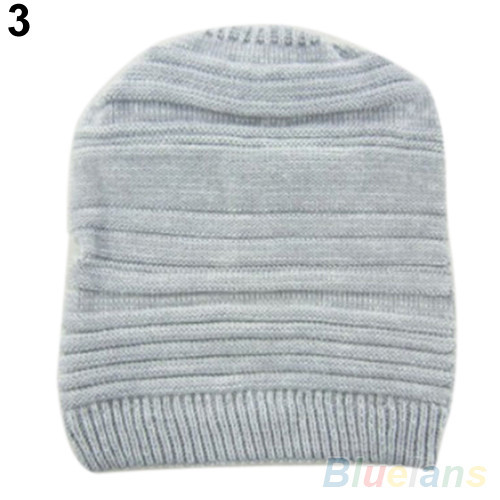 Новый мужской женский мужская вязать багги шапочка Hat зима теплая негабаритных лыж Cap 1QCL 4BM6