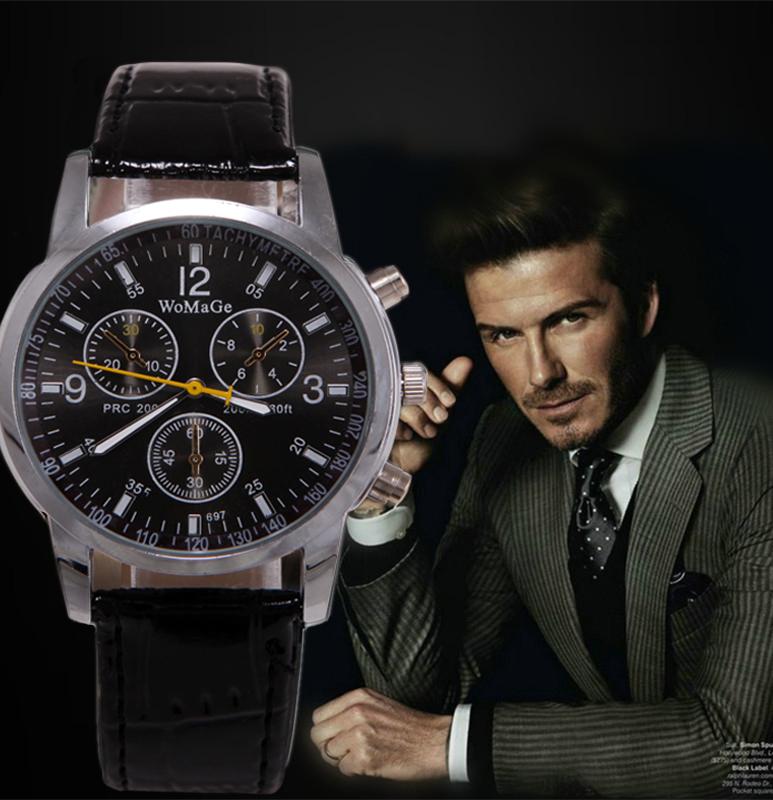 New Fashion Casual Men's Quartz Watch Men Luxury Brand Men Sports Watches Analog Clock Male relogio masculino reloj hombre(China (Mainland))