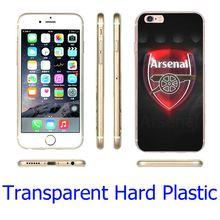 Buy ARSENAL FC FOOTBALL CLUB GUNNERS Clear Phone Cover Case iPhone 5S 5 SE 5C 4 4S 6 6S 7 Plus  (Soft TPU / Hard Plastic ) for $2.39 in AliExpress store