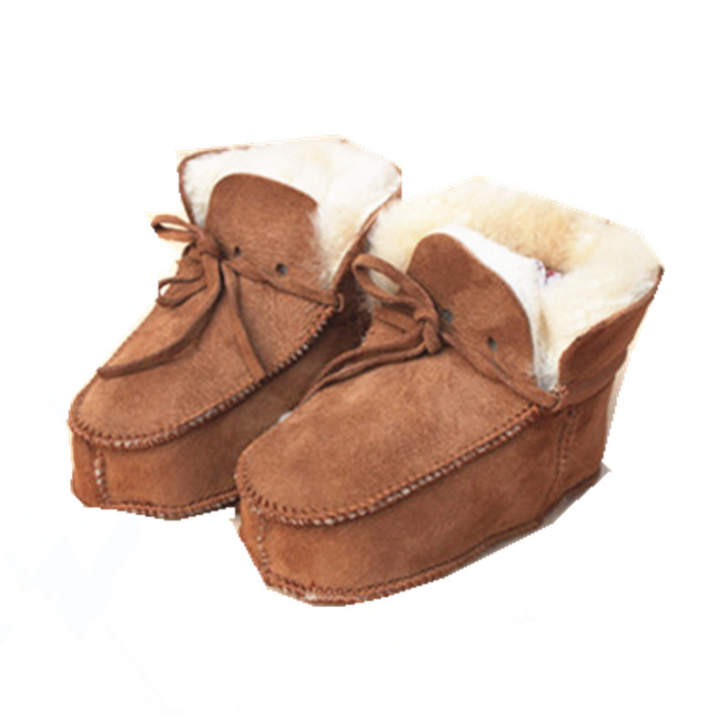 Winter Baby Shoes First Walkers Faux Fur Snow Boots For Infants Soft Warm Baby Boys Girls Shoes C50(China (Mainland))