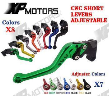 For Yamaha FZ6 FAZER 2004-2010 Adjustable CNC Short Racing Brake Clutch Levers