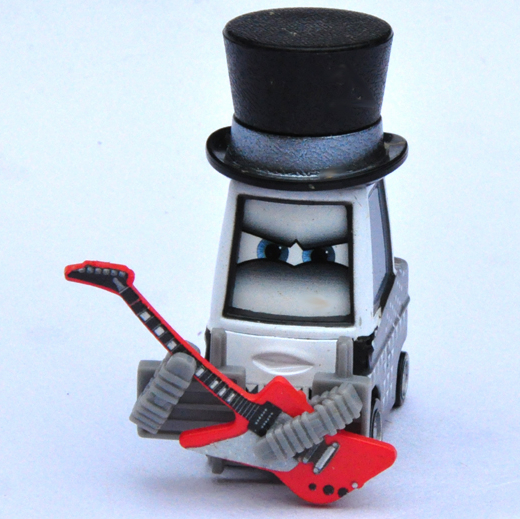 Guitarist of Heavy Metal Band of Pixar Cars,Mini Alloy Toy Car,1:55 Scale, Diecast Metal Model Classic Vehicles(China (Mainland))