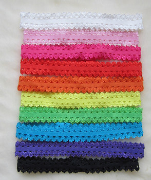 400pcs Girl's small Elastic headbands,baby stretchy laced head bands unisex Headwrap Children's hair adorn accessories hair wear