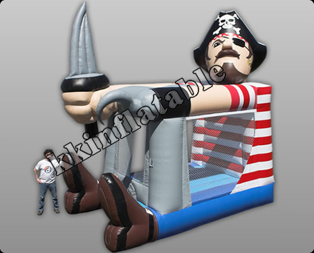 pirate bouncy house, inflatable jumper, inflatable trampoline, bouncy house, moonwalk(China (Mainland))