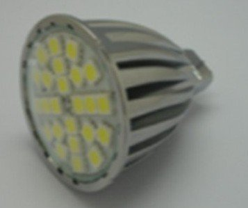 MR16 SMD LED spotlight,24pcs 5050 SMD LED,5W
