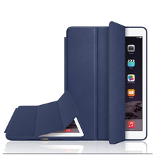 Official Original 1:1 PU Leather Ultra Thin Stand Cover Slim Smart Case for Ipad air 2 / air 1 Ipad 5 / 6 for Ipad Mini 3 2 1(China (Mainland))