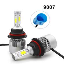 2pcs H4 Car Headlight Bulbs LED H7 H1 H4 H11 9005 9006 Hb3 Hb4 LED 6500K 8000LM 12V S2 Auto Fog Light for Car Super Bright Moto(China)
