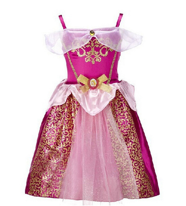 girl party dress new child's fair tale kids clothes girls cosplay costume cinderella princess performances dresses - shuang wang's store