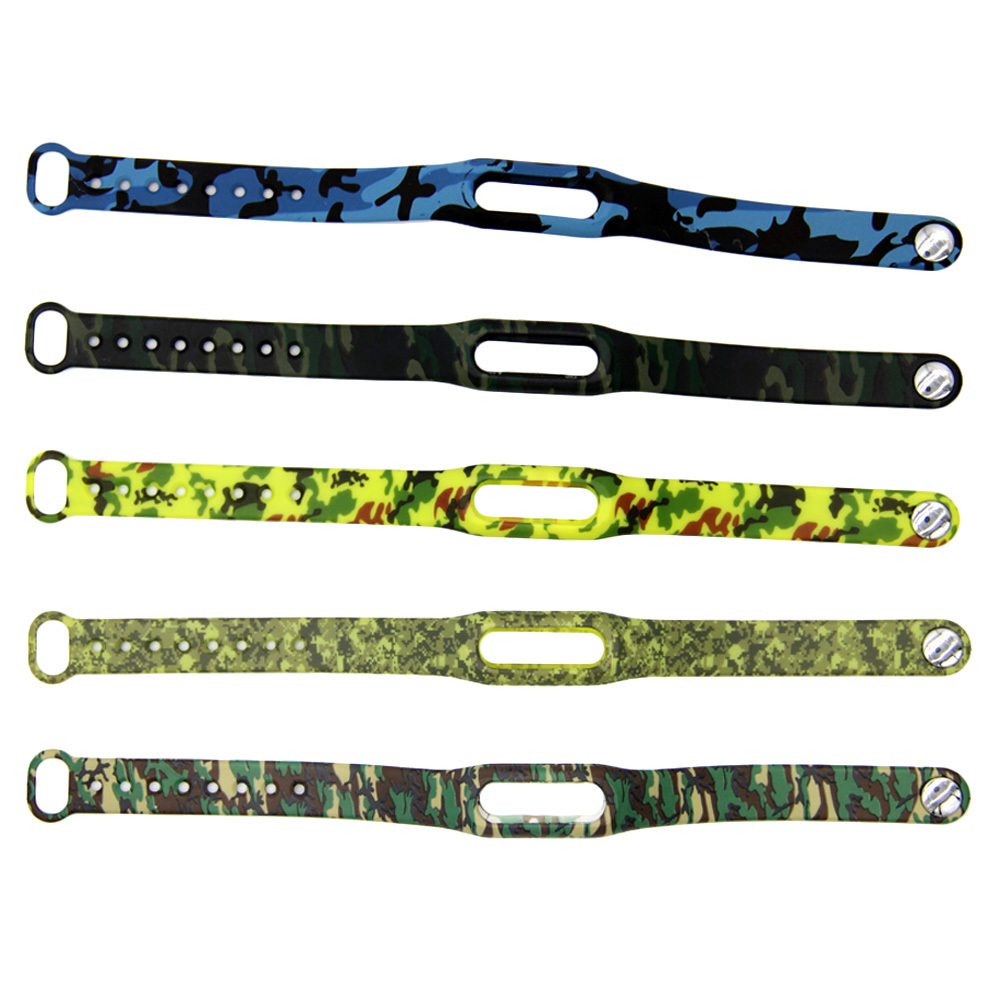 1pcs Camouflage Replace for Xiaomi 2 For Mi Band 1S 1A Smart Wristband Belt Strap For Xiaomi 2 Replacement Band Bracelet(China (Mainland))