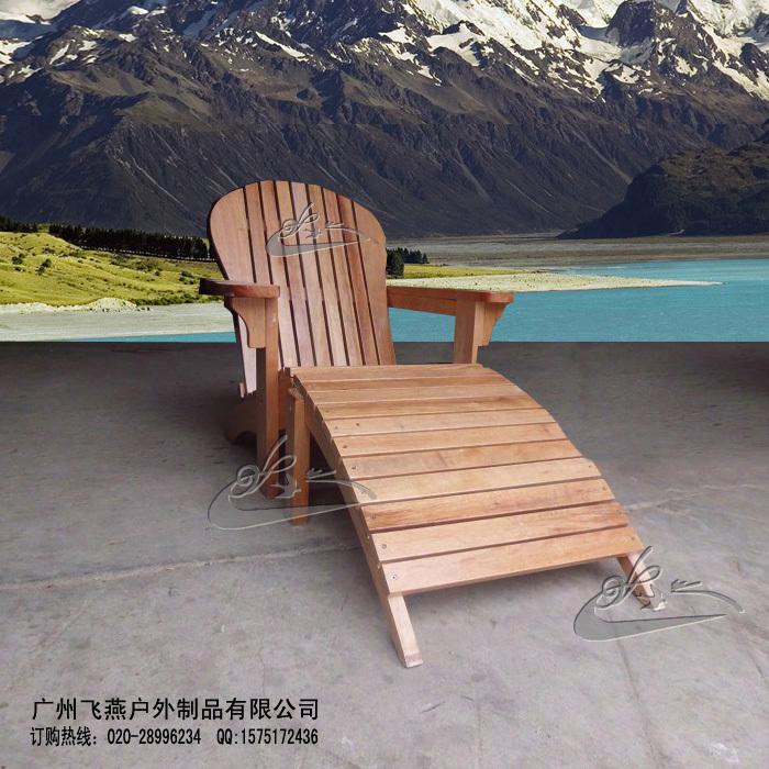 Houten outdoor strand stoel/fauteuil fan/outdoor hout dek stoelen kind ...