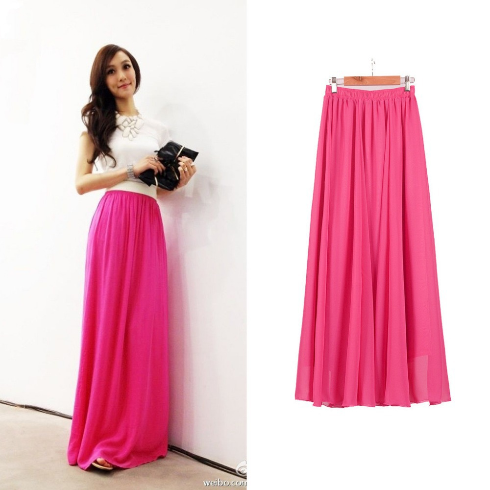 Long skirt dresses - Long dress style