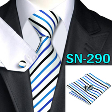 40 Style Tie hanky cufflink Sets 2015 Fashion 100% Silk Neckties Ties for mens gravata  For Wedding Party Business Free Shipping(C