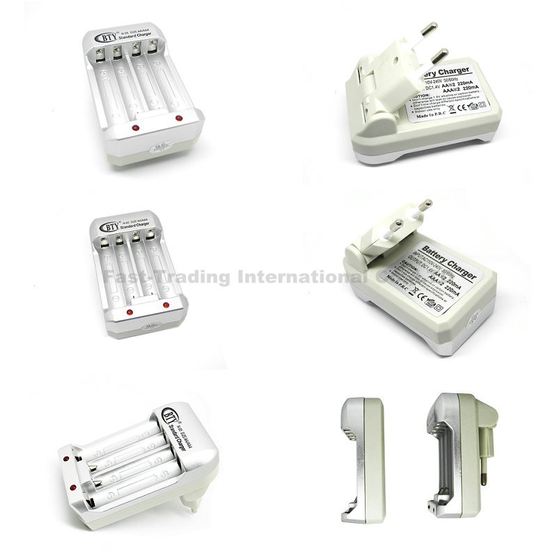 Hi-speed Quick AA AAA Rechargeable Battery BTY Batteries Charger GN-N95 - Fast-Trading Center store