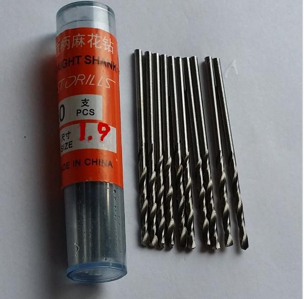 20pcs Micro HSS 1.9mm Straight Shank High Speed Steel Twist Drill Bits ,Mini Drill Bits,Electric Drill Power Tools