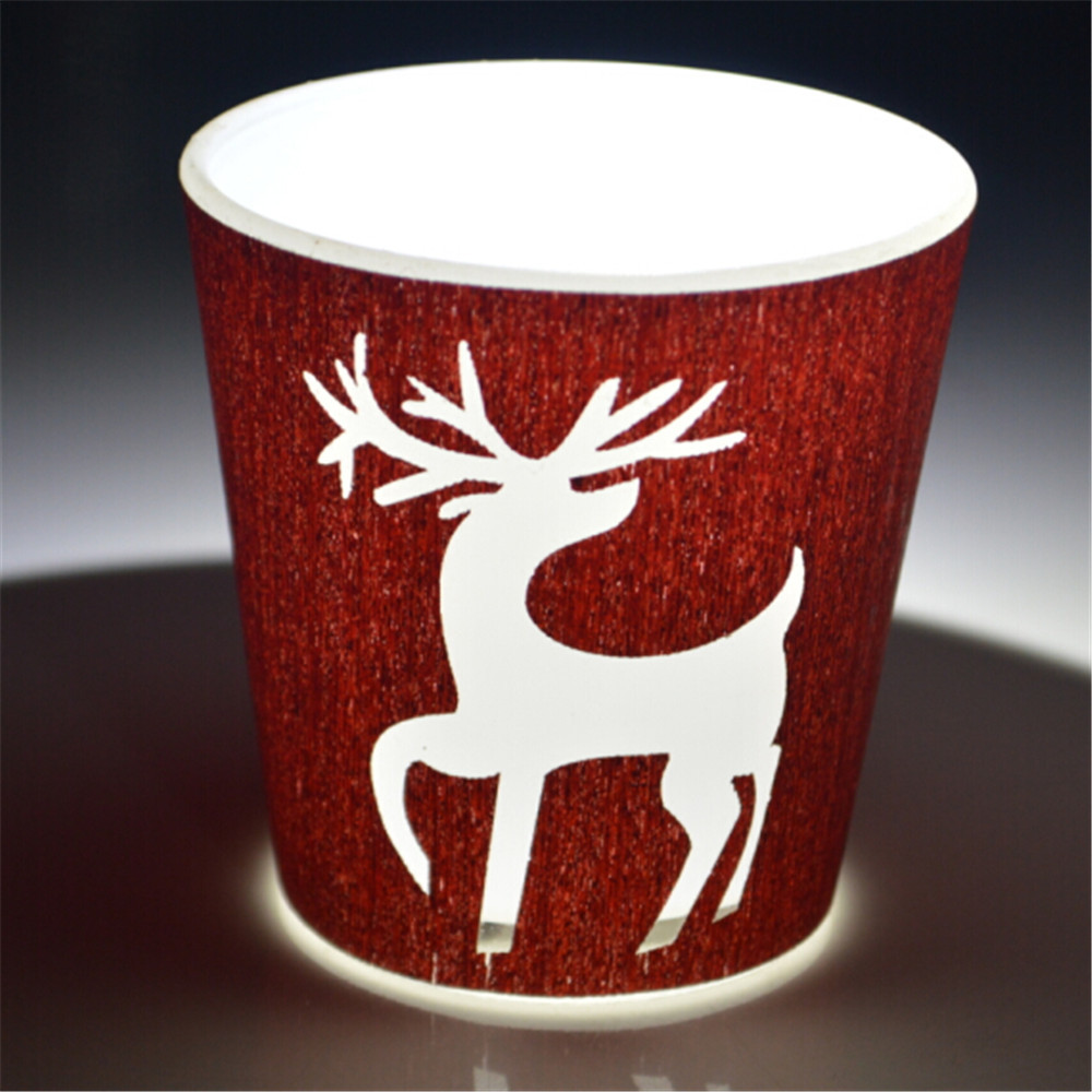 2015 new style christmas candle holder deer candle holder(China (Mainland))