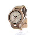 BOBO BIRD C19 Men s Design Brand Luxury Wooden Bamboo Watches With Real Leather Quartz Watch