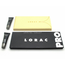 2 set/lot 2014 New LORAC pro palette and LORAC UNZIPPED Palette 16 color eye shadow palette + eye primer makeup set