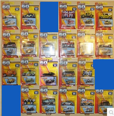 [Matchbox] 60th anniversary,Mustang GT,etc.21 Car Model Toy Free shipping(China (Mainland))