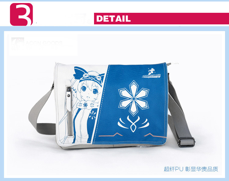 Anime VOCALOID New Hot Canvas Messenger Bag Hatsune Miku Flap Crossbody Bags Snow Miku Cosplay Travel Shoulder Bags