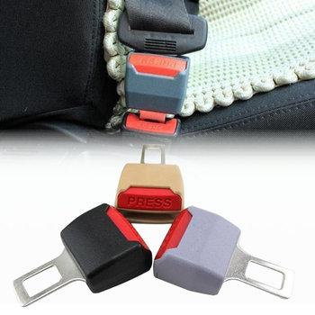 2Pcs/Lot 2016 General Car Safety Belt Buckle Adjustable Seat Belt Clip Seat Belts Buckles Extender Extension Accessories