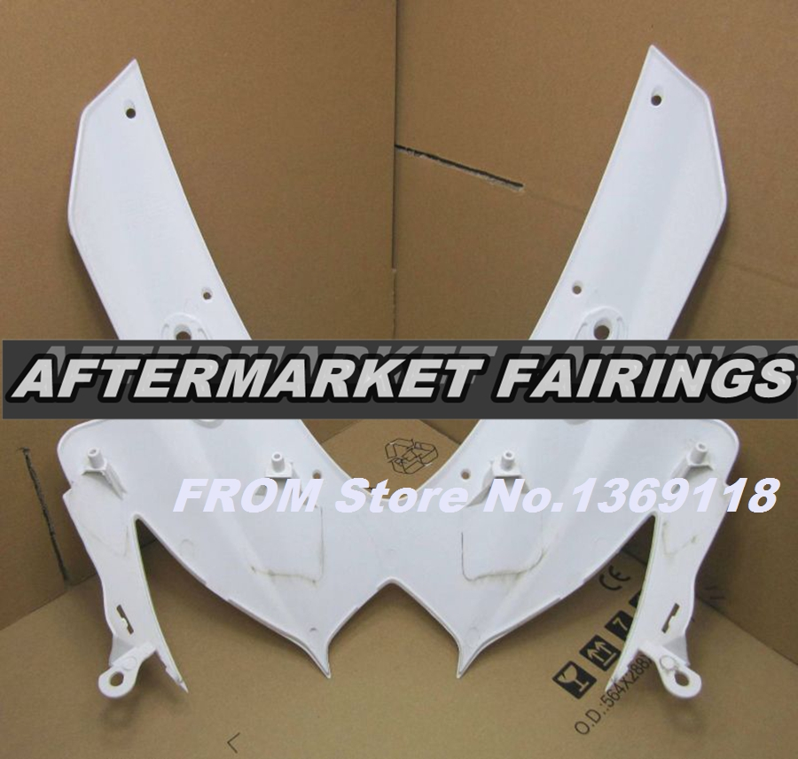 100% Virgin ABS Plastic Front Fairing Head For Suzuki GSXR 750 600 2008 2009 2010 K8 Upper Fairing Nose Cowling NEW(China (Mainland))