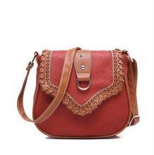 2016 Women Messenger Bag woven bolsa feminina bolso mujer Leather Shoulder Bag Richard Crossbody Bags for Women