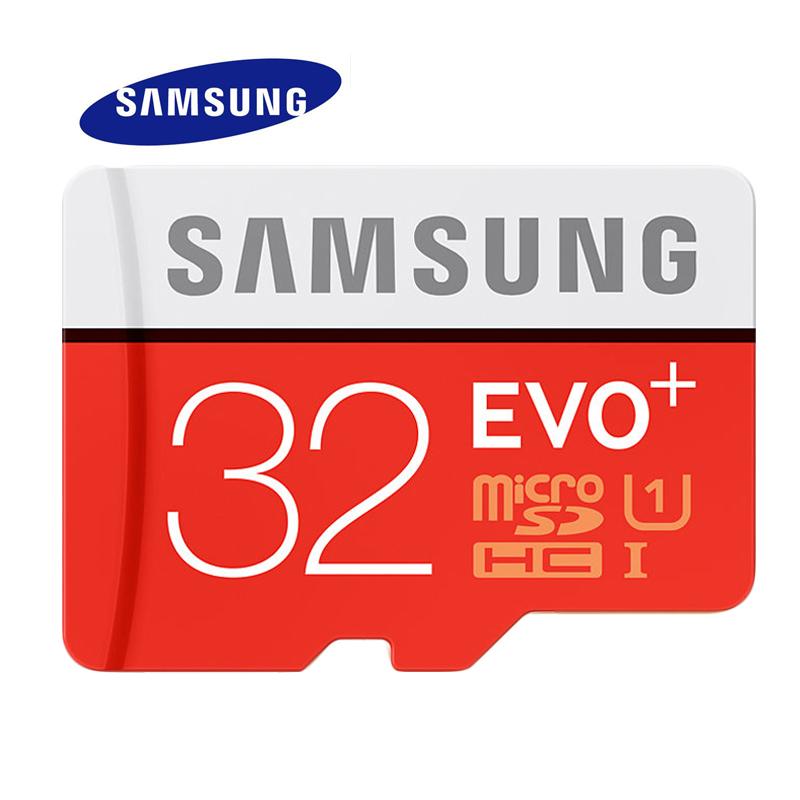 2016 Hot Sale Genuine SAMSUNG Memory Card EVO+ MicroSD 64G SDHC SDXC TF80M Grade Class 10 Micro SD C10 UHS TF Trans Flash 64 GB(China (Mainland))