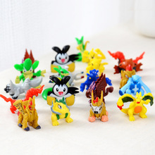 1PCS Mini Pocket Pokemons Action Figure Doll For Kids Children(China (Mainland))