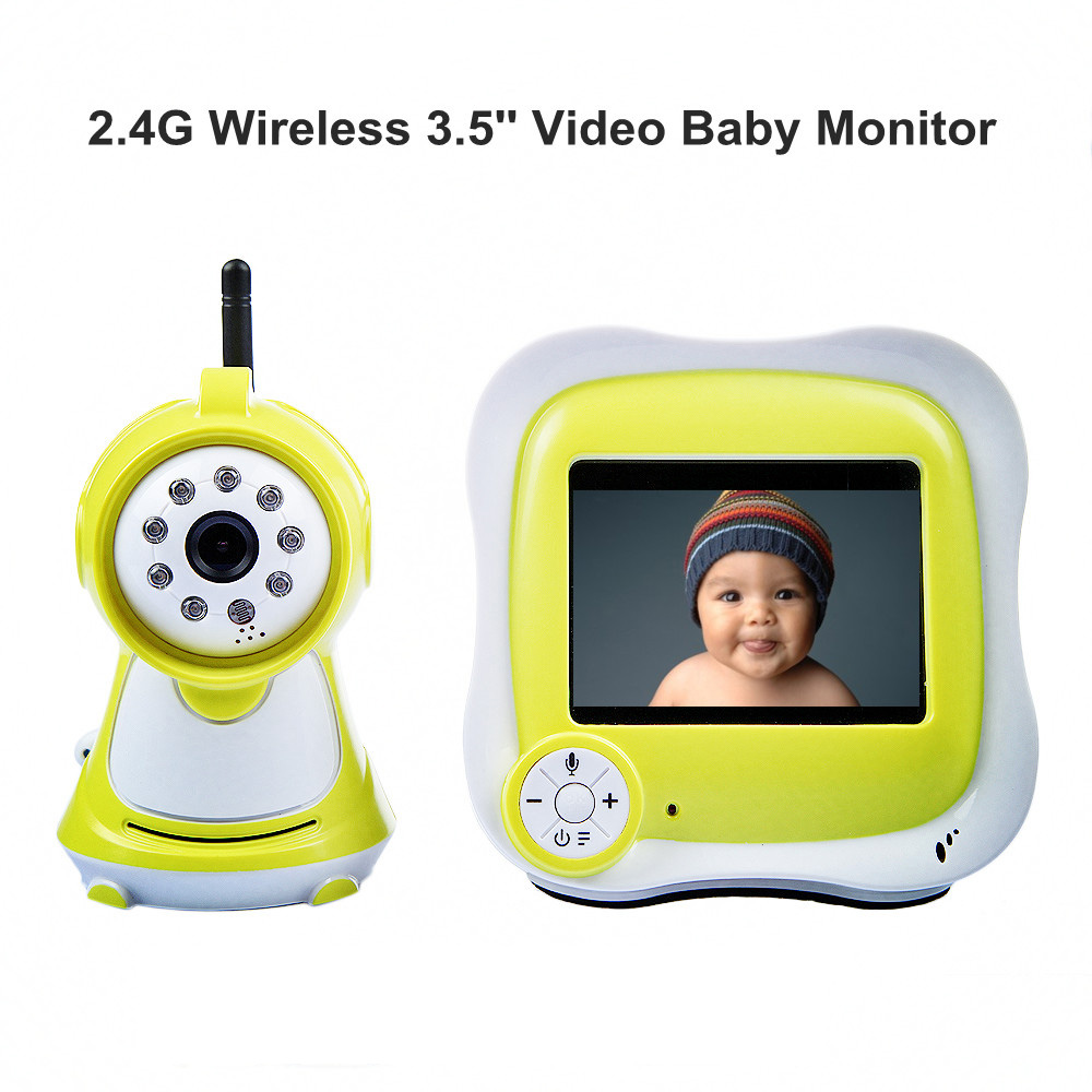 New 3.5'' LCD Wireless Night Vision Video Camera Baby Monitor Security Cameras Receiver with High-definition Digital Baby Camera(China (Mainland))