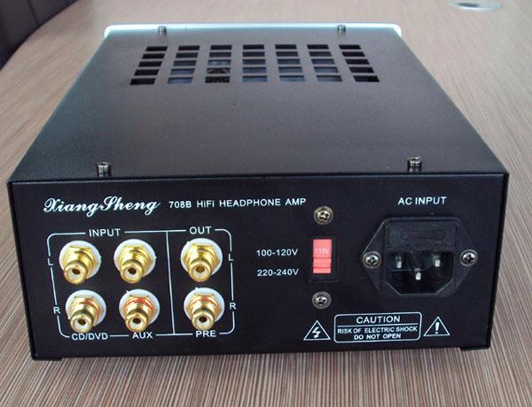 Tube pre amplifier output of headset hifi exquis Xiangsheng 708b lamp preamps