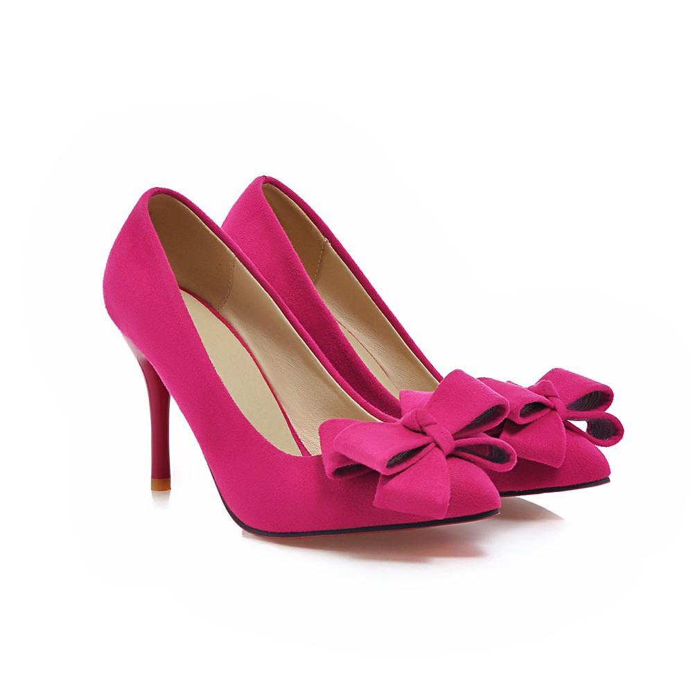 Pink Purple Heels