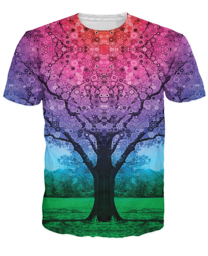 Buy Star Tree T Shirt Beautiful Vibrant